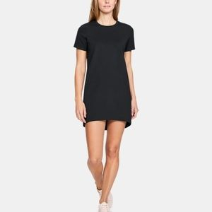 Under Armour Black Short Sleeve Dress Size M